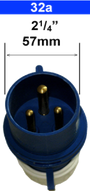 Galvanic isolator zinc saver 32amp connection plug. Galvanic isolator for 32amp supply