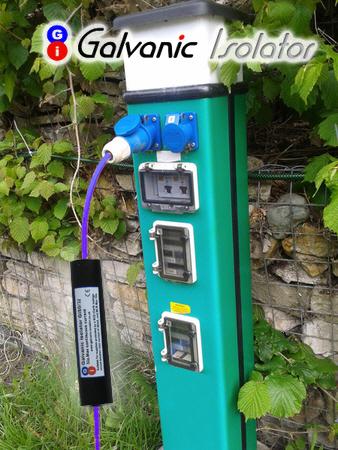 plug in galvanic isolator