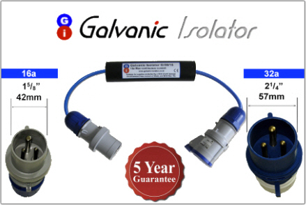 plug in galvanic isolator for narrowboats