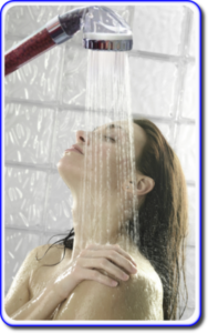power shower for caravans
