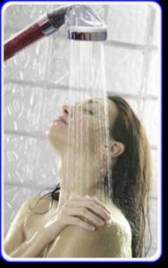 power shower for caravans
