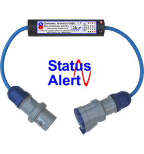 galvanic isolator with status monitor plug in easiest to fit