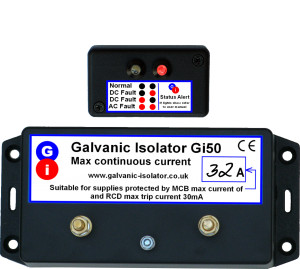 galvanic isolator for narrowboats