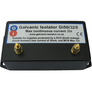 galvanic isolator for wiring in