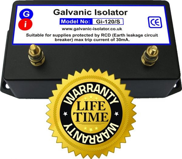 wire in galvanic isolator for boats