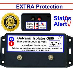 best wire in galvanic isolator