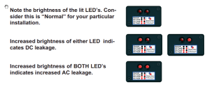 zinc saver galvanic isolator with earth leakage monitoring