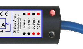 galvanic isolator how to read fault indicator lights