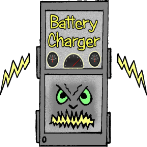 phone charger power supply danger to boats hull
