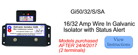 fitting instructions for galvanic isolator with status alert lights