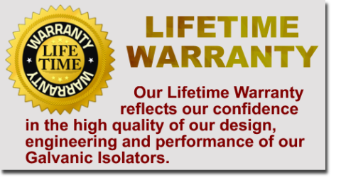 galvanic isolators lifetime warranty