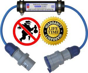 anti-theft galvanic isolator