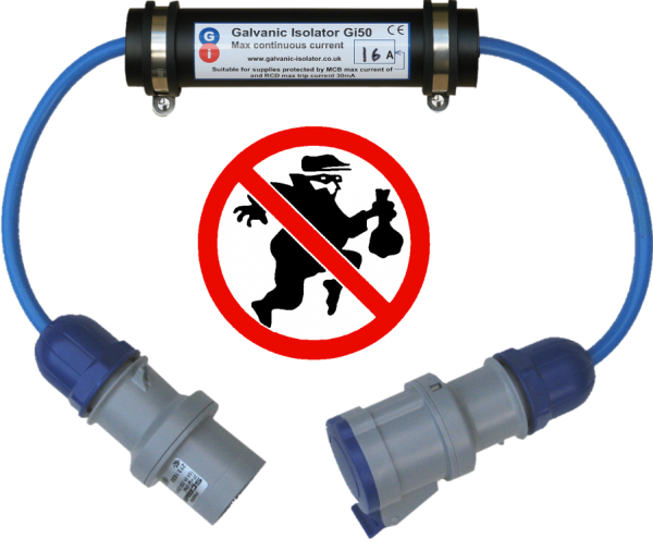 anti-theft galvanic isolator