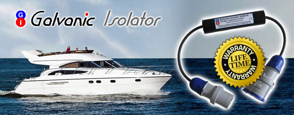 galvanic isolator for power boat lifetime guarantee