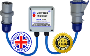 galvanic isolator - plug in or wire in