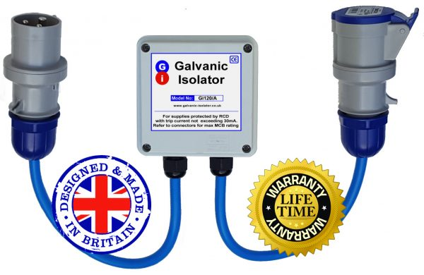 30 second install galvanic isolator