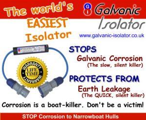 galvanic isolator for winter protection