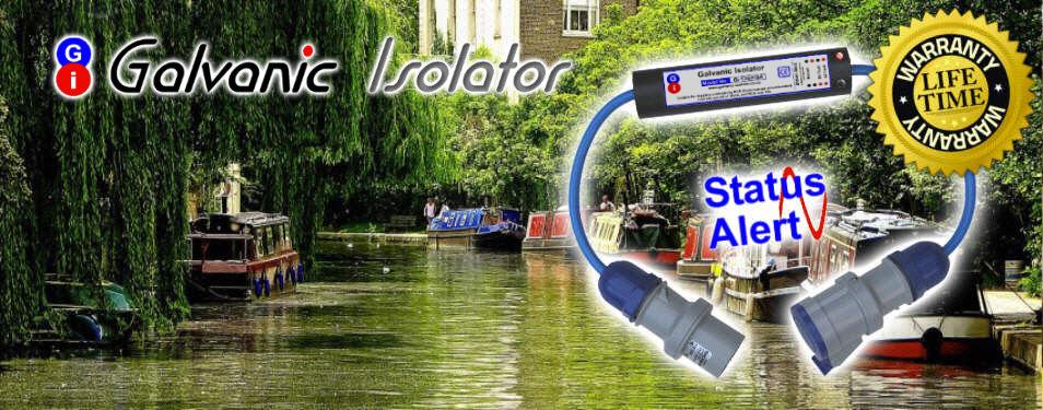 galvanic isolator with status alert and lifetime warranty
