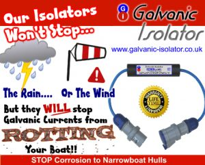how to connect a galvanic isolator to prevent rust
