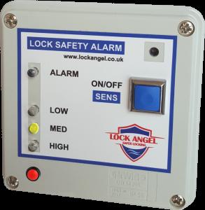 LockAngel canal lock safety system