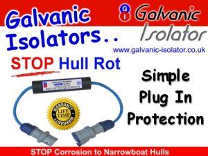 galvanic isolator to stop rust on boat