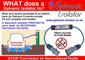 galvanic isolators on boats