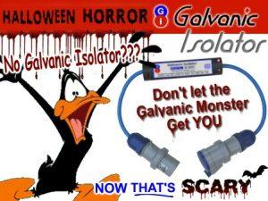 Galvanic Corrosion GRP boats