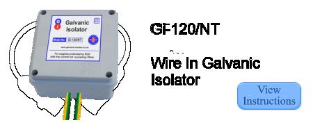 Instructions for Galvanic Isolator Gi-120/NT