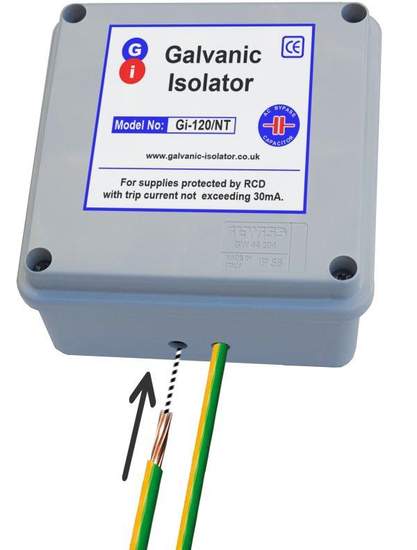 inside a galvanic isolator