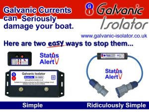 galvanic isolator for canal boats