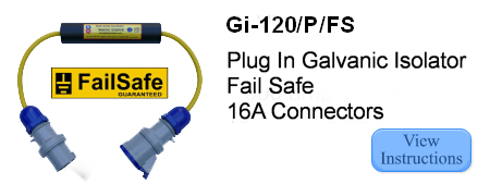 instructions for plug in galvanic isolator