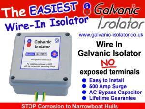 galvanic isolator wire in