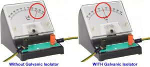 how to check that marine galvanic isolator is working