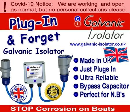 marine galvanic isolator boat