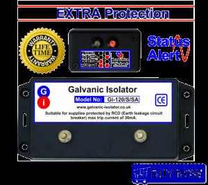 marine stud galvanic isolator