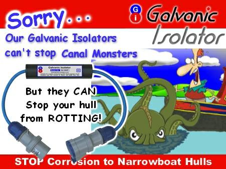 corrosion on narrow boats best galvanic isolator