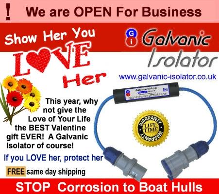 marine galvanic isolation for boats