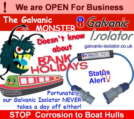 galvanic isolator outboard motor saildrive