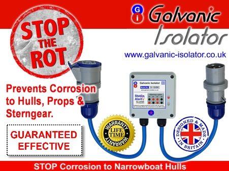 best galvanic isolator for steel boat