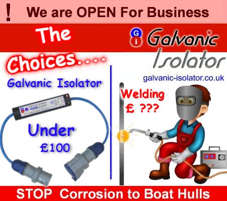 galvanic corrosion on boats