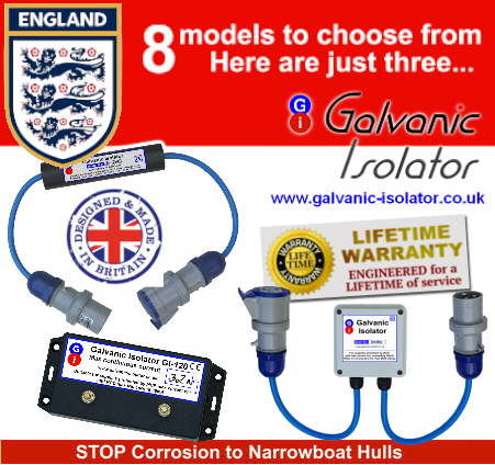 galvanic isolation for boats